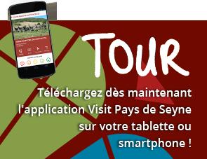 Télécharger dès maintenant l'application Visit Pays de Seyne sur votre tablette ou smartphone