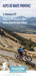 Carte VTT Blanche Serre-Ponçon 2020