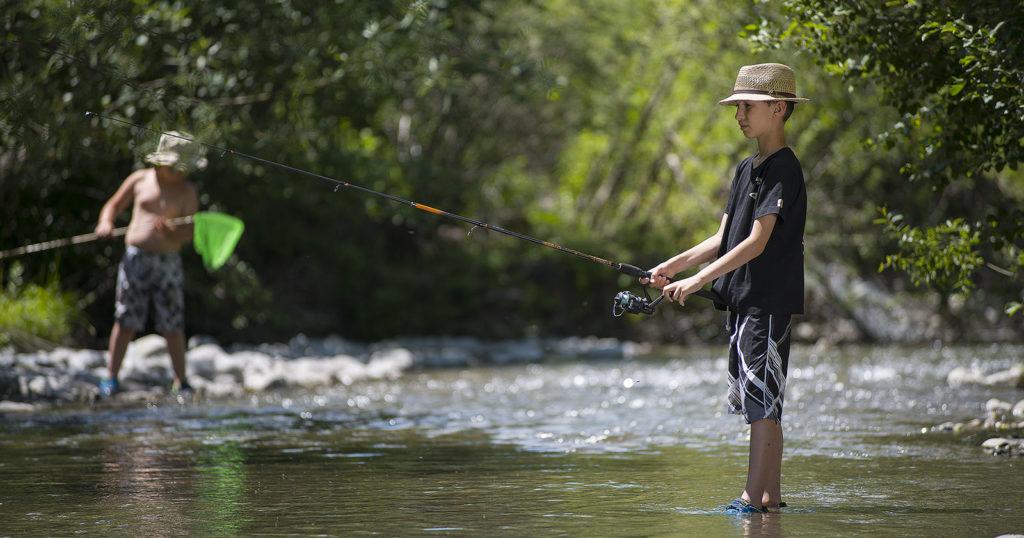 Pêche en rivère