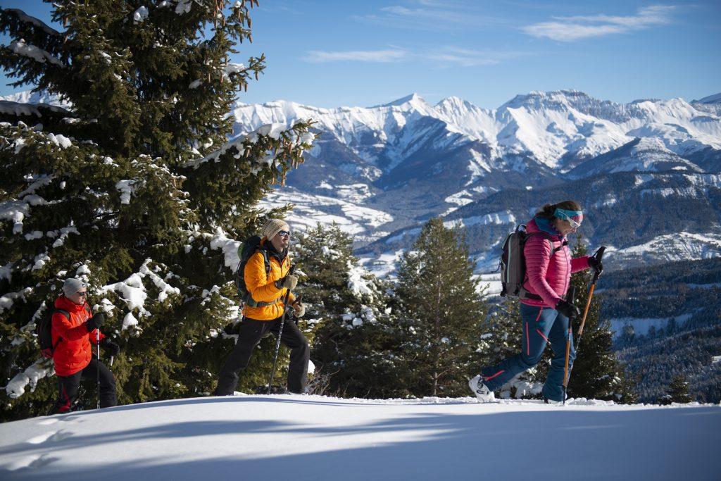 Ski de randonnée à Chabanon