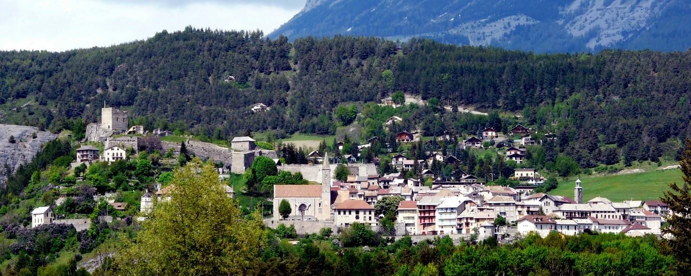 Seyne les Alpes, vue sur le Fort Vauban depuis Sainte Rose @Nelly Blondel, Fort et Patrimoine