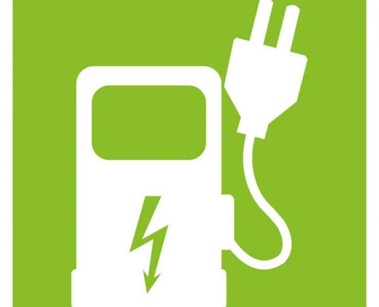 Logo borne électrique