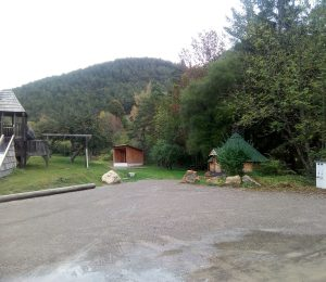 Aire camping car Auzet
