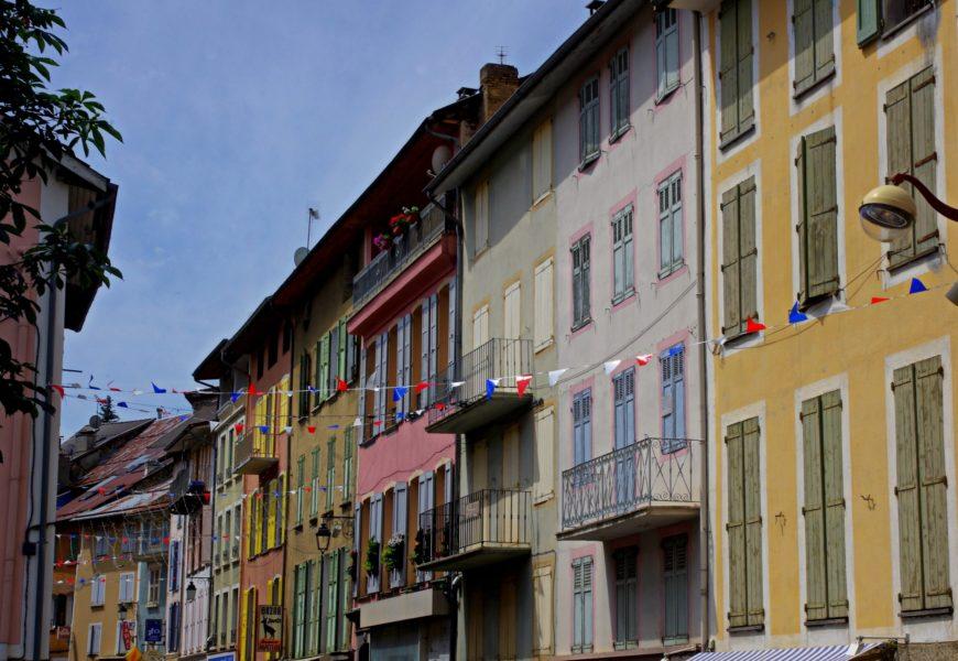Village de Seyne les Alpes