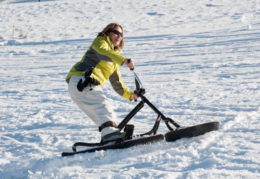 Snowscoot à Montclar