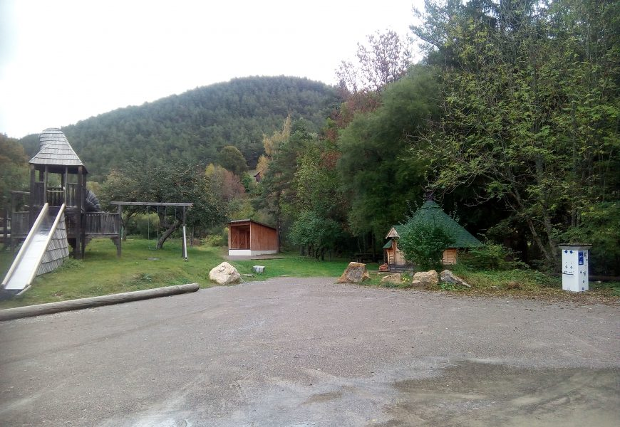 Aire camping car Selonnet