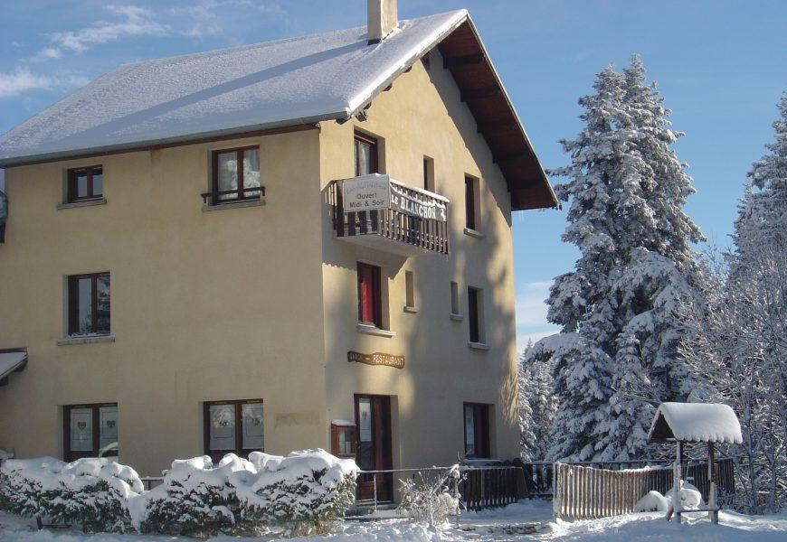 Hôtel restaurant le Blanchon